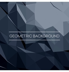 Geometric pattern triangles background in vector