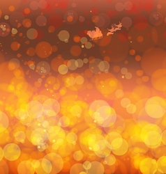Gold Festive Christmas background vector