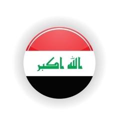 Iraq icon circle vector