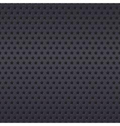 Metallic stars texture pattern vector