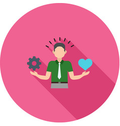 stress management skills vector image