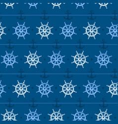 nautical background steering vector image vector image