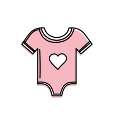 Baby girl clothes that used to sleep vector