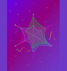 colorful diamond tiles seamless pattern vector image