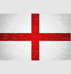 England country flag of english nation vector