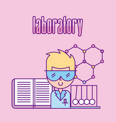 laboratory scientific examinations vector image