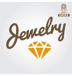 Logo emblem label print sticker or logotype vector image