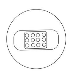 Plaster icon design vector