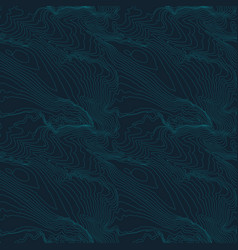 tileable topographic map background concept with vector image