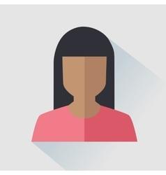 User woman icon vector image