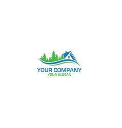 Valley home logo design vector
