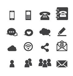 web communication vector image