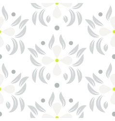 Floral leaves seamless pattern vector image vector image