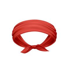 bandana realistic vector image