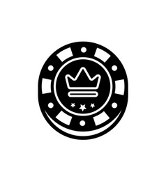 casino chip isolated poker chips for vector image