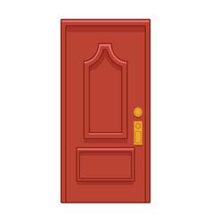 Door icon cartoon vector