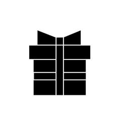 gift box icon sign o vector image
