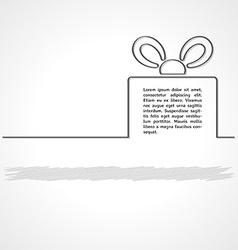 Gift infographics vector