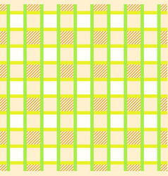 Gingham checkered seamless pattern vector
