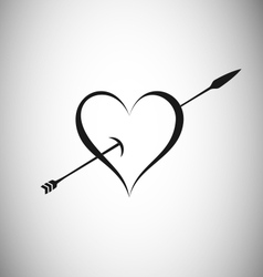 Heart With Arrow vector