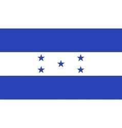 Honduras flag image vector image