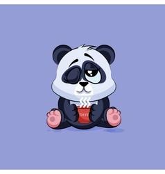 isolated Emoji character cartoon vector image