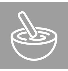Mixing bowl vector