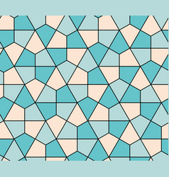 seamless geometric pattern simple flat lined vector image