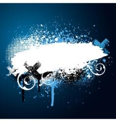 paint splatter vector image vector image