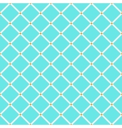 Blue and orange rhombus simple geometric seamless vector image
