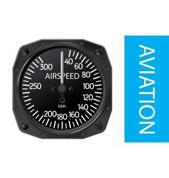 Airspeed indicator vector