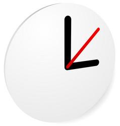 Clock graphics clock icon editable clock with vector