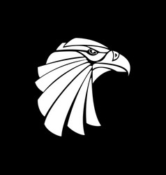 eagle abstract vector image