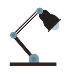 electric lamp cartoon vector image