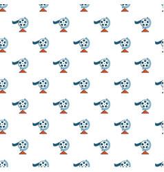 Film reel pattern vector