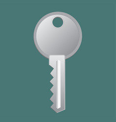 key door icon vector image