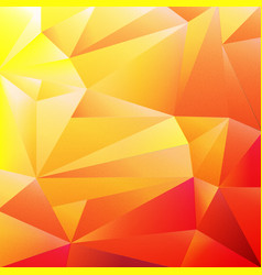 orange colorful origami background vector image