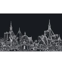 Sketch of London vector image