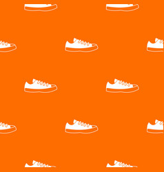 sneakers pattern seamless vector image vector image