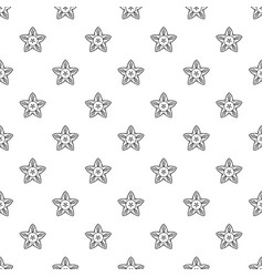 summer flower pattern seamless vector image