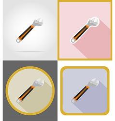 repair tools flat icons 13 vector image