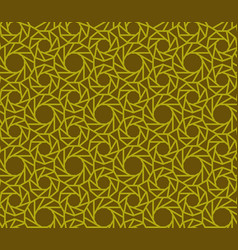 Seamless pattern abstract geometric ornament in vector
