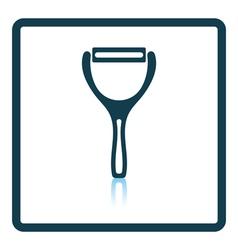 Vegetable peeler icon vector image vector image