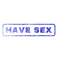 have sex rubber stamp vector image