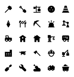 Construction Icons 2 vector image