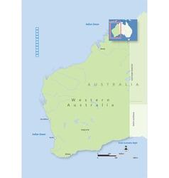 Australia Western Australia vector