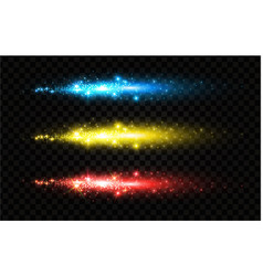 fireworks sparcle benglian light and motiom vector image
