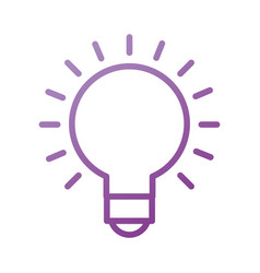 idea creative concept bulb graphic and designer vector image