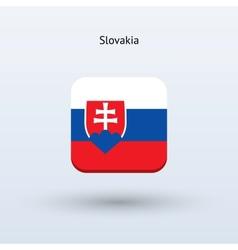 Slovakia flag icon vector