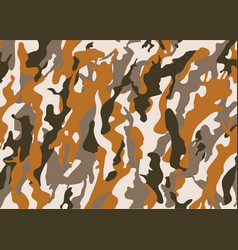 texture military camouflage army hunting vector image